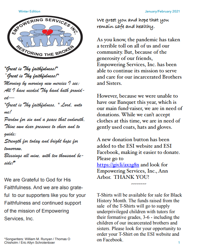 ESI Newsletter